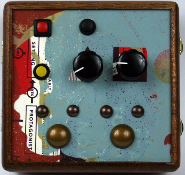Cigar Box Synthesizer Sound Block - ambitstudio - handmade synthesizer